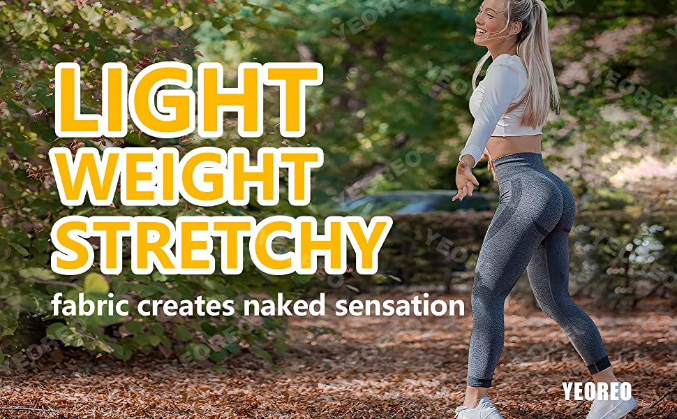 lightweight stretchy fabric creates naked sensation