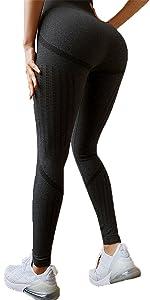 Pantaloni Sportivi Seamless Elasticizzato