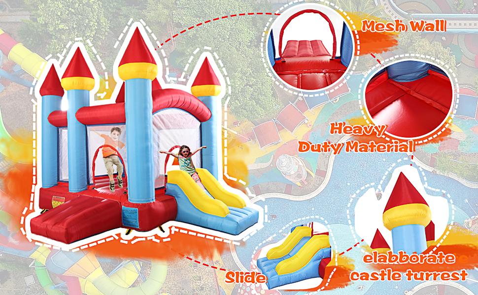 ghdonat.com Repair Kit Trampoline Jump and Slide Bouncer Castle ...