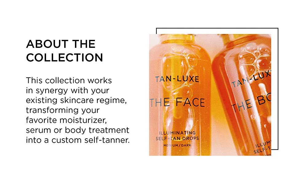 tan-luxe, tailor-made tanning, custom, tanning, self tan, body treatment, face treatment, skin care