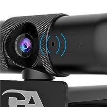 cyber acoustics ca essential webcam omnidirectional microphone