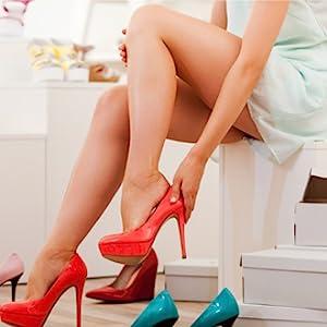 Show beautiful feet