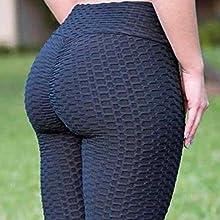famous tiktok leggings Sexy Butt Lifting Anti Cellulite Leggings for Women High Waisted Yoga Pants