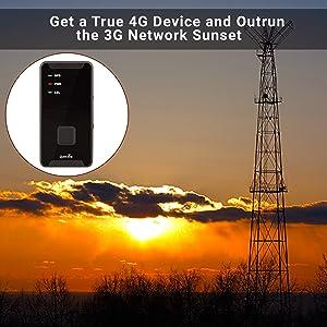 4G tracker, 3G network sunset