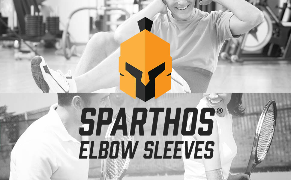 Sparthos Elbow Sleeves are designed to give your elbows and tendons the support they need