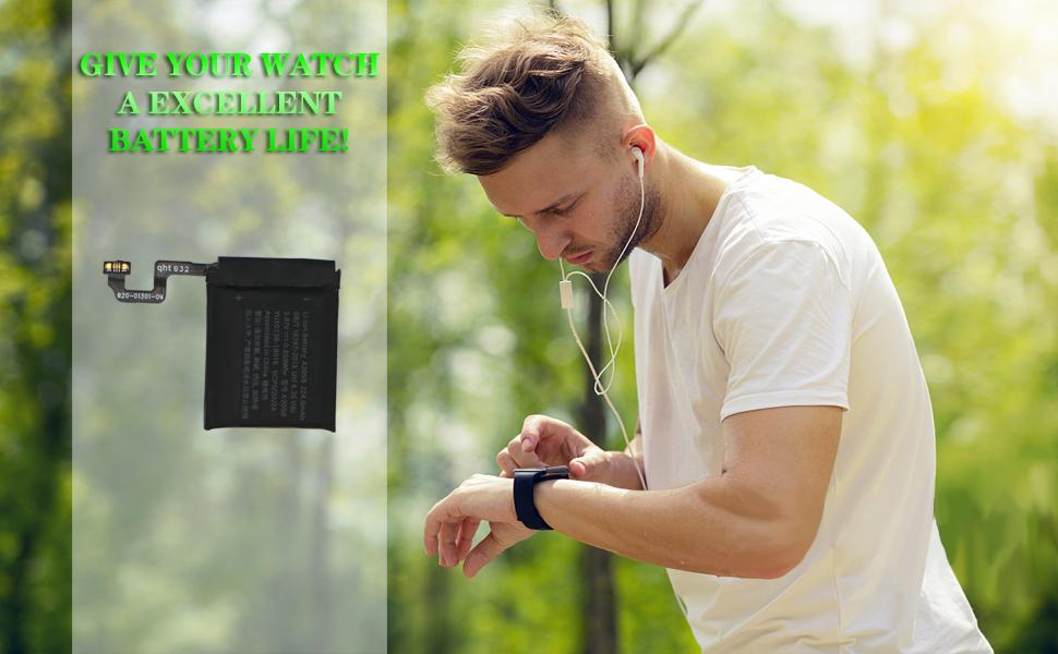 watch series 4 battery 40mm
