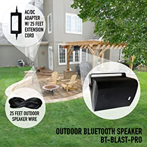 wireless outdoor speakers for backyard  Wireless Streaming 6.50″ Indoor/Outdoor Weatherproof Patio Speakers, Bluetooth Speaker (White – Pair) by Sound Appeal bcf2cc7d 79f0 4002 85c8 18168c756148