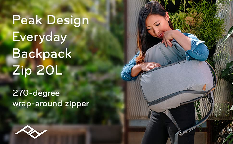 Peak Design Backpack Zip 20L