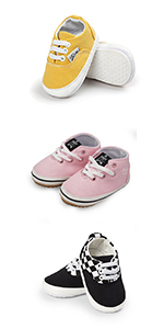 Baby Boy Girls Canvas Sneakers
