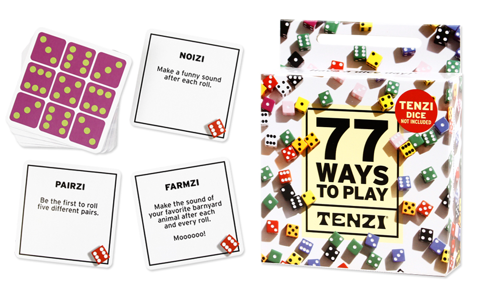 Tenzi 77 ways to play TENZI kids party game