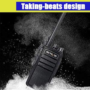 durable retevis RT21 walkie talkie
