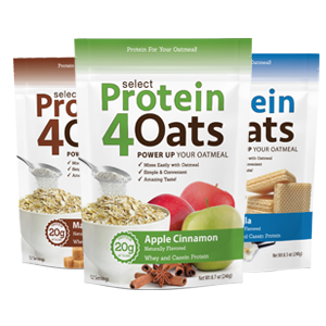 pescience select protein 4 oats snacks low carb keto oatmeal gluten free food