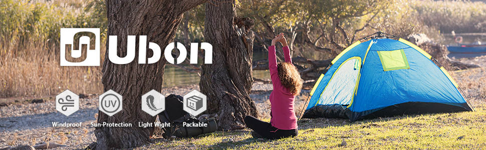 Ubon's Lightweight and Windproof Camping Tent