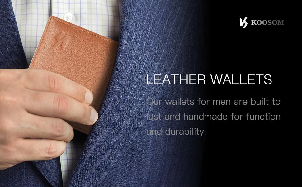 slim wallets for men