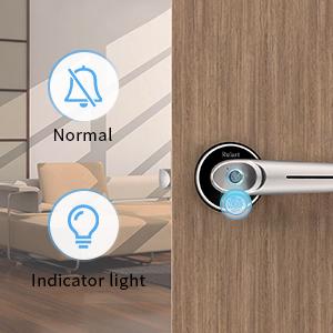 programmable door locks with handle
