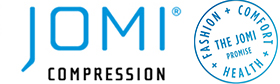 Jomi compression logo socks stocking hosiery thigh knee high pantyhose