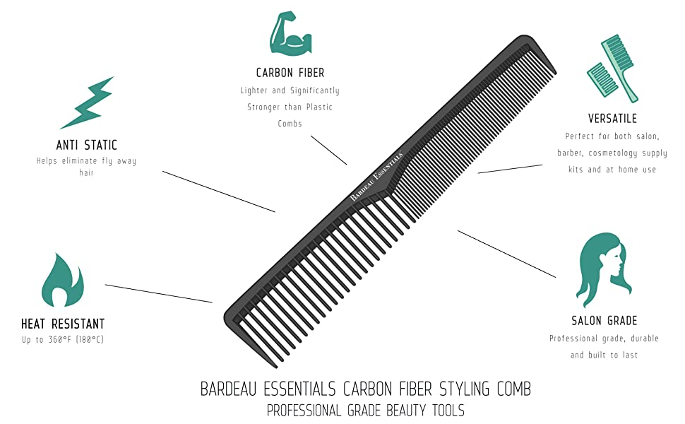 haircut hair cut barber personal hygiene kit travel combs braiding parting hairstyle combs for hiar
