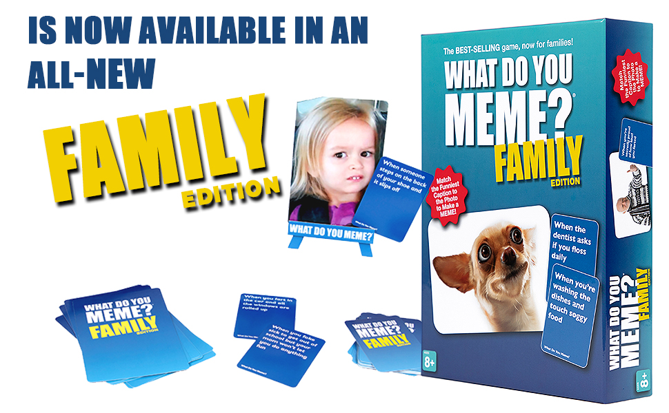 Amazon.com: What Do You Meme? Family Edition - The ...