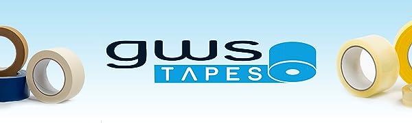 Gws Tapes - plakband, pakband, dubbelzijdig plakband, geweven tape