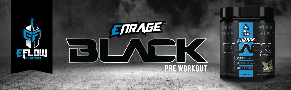 enrage,black,pre-workout,preworkout