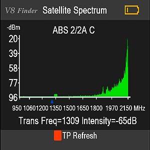 GT MEDIA V8 Sat Finder Meter DVB-S/S2/S2X Localizador de ...