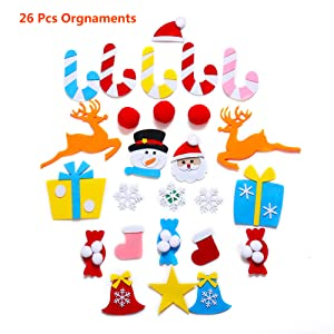 DIY Decorative Felt Pendant Tree Childrens Room Cartoon Wall Decoration Craft Accessories Educational Toy for Kids Calmson 2020 Felt Easter Tree