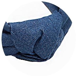 knotted designer headband