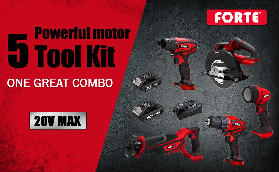 Max 5-Tool Kit