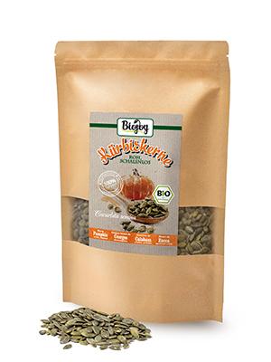 semillas de calabaza ecologicas crudas sin sal pepitas harina muesli frutas secas nueces gluten bio