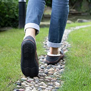 Durable & Anti-skid rubber sole