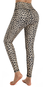 Leopard Workout Pants