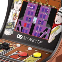 My Arcade Elevator Action Micro Player - Fully Playable Mini Arcade - Collectible - Full Color Display - External Speaker - Volume Buttons and ...