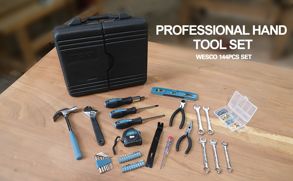 Hosehold hand tool set