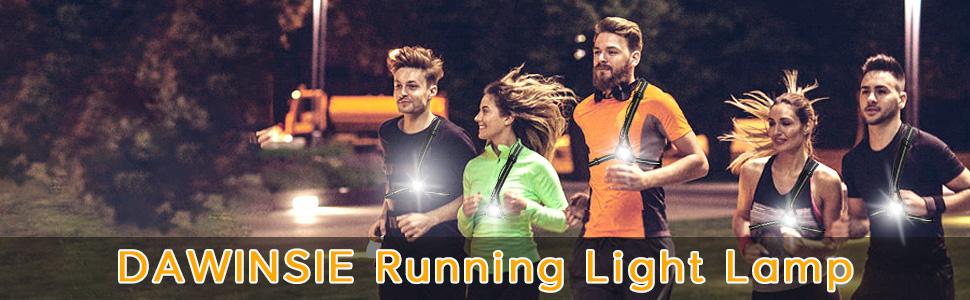SAFETY NIGHT LIGHTS FOR RUNNER