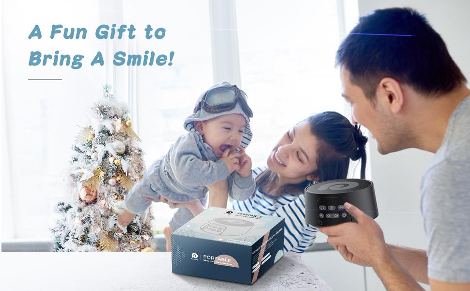 sound machine gift, baby soother sleep machine