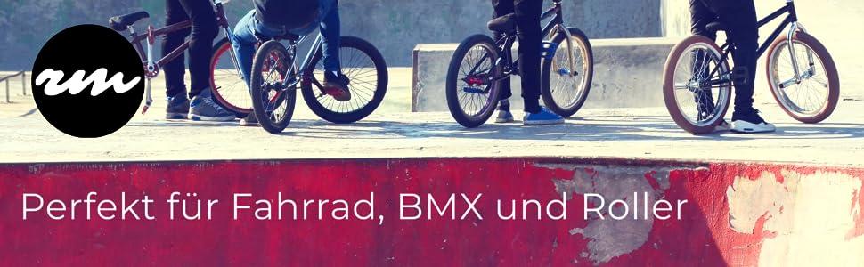 BMX handschuhe, Fahrradhandschuhe und Rollerhandschuhe von Ride More Protection