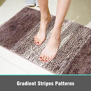 shaggy bath floor mats
