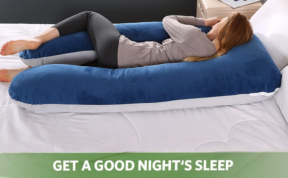 Pregnancy Pillow, Full Body Maternity Pillow with U-Shape
