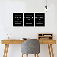 execution wall art canvas wall art office wall decor picture