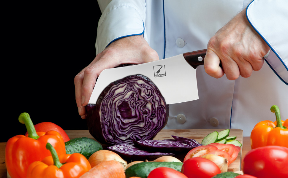 vegetable cleaver knife