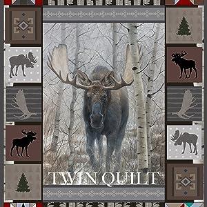 twin quilt design