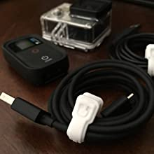 Gadgets - Cable Management - Cable Clips -