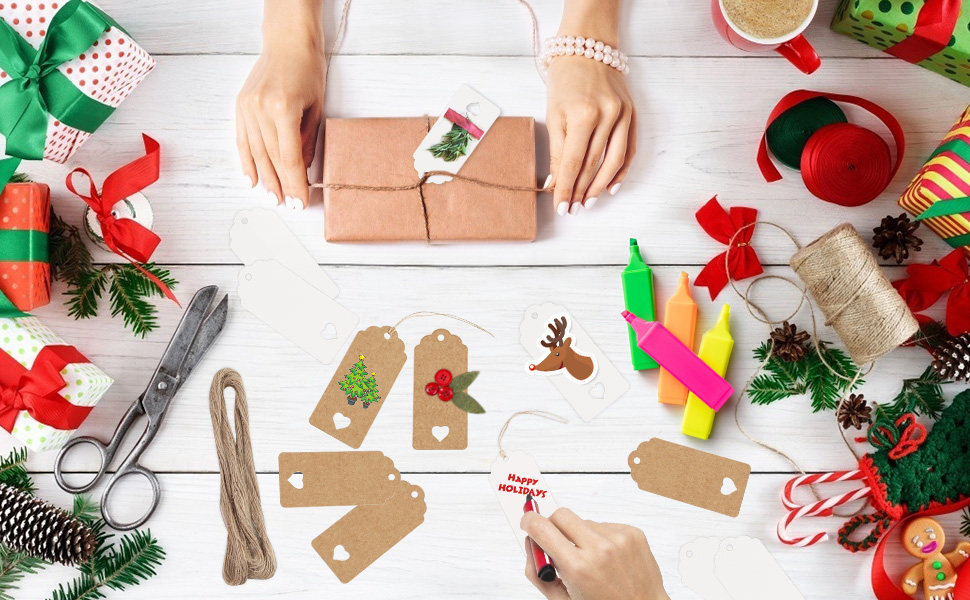 Gift Paper Tags,
