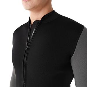 2mm men top wetsuit