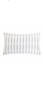 navy blue lumbar pillowcases