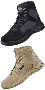 6 Inches Tactical Hiking Combat Boots