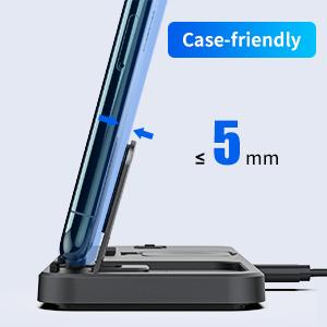 case-friendly holder