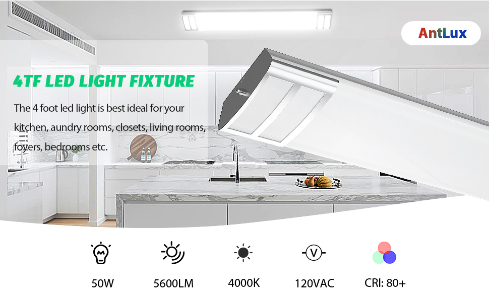 4 foot led light