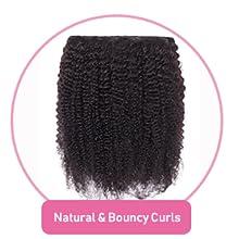 Natural amp; Bouncy Curls