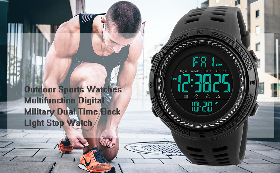 Mens Outdoor Sports Watches